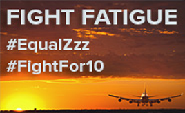 Visit www.afacwa.org/flight-attendant-fatigue!